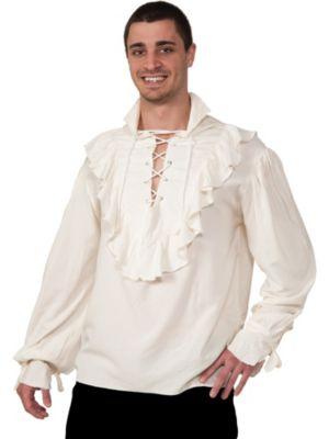 Ecru Pirate Shirt for Adults