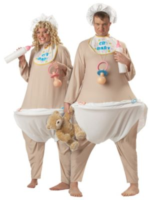 Cry Baby Plus Size Costume for Adults