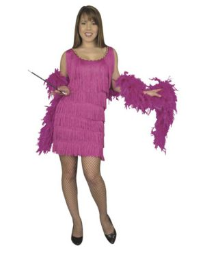 Plus Size Flapper Costume for Adult