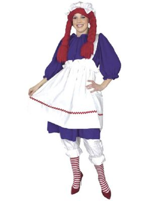 Plus Size Raggedy Ann Costume for Adult