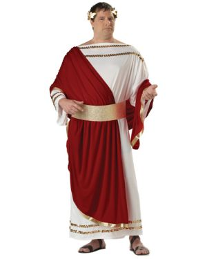 Julius Caesar Plus Size Mens Costume