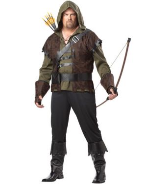 Adult Plus Size Robin Hood Costume