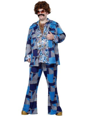 Adult Plus Size Boogie Nights Costume