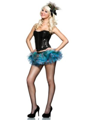 Womens Sexy Peacock Costume Kit