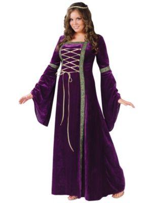 Renaissance Lady Womens Plus Costume