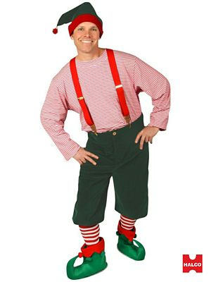 Adult Large Workshop Elf Costume