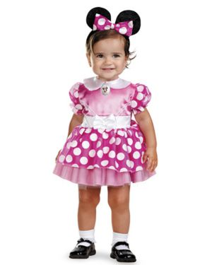 Infant Disney Pink Minnie Mouse Costume