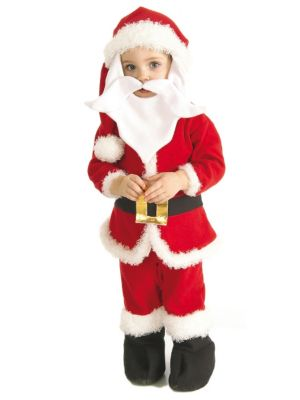 Santa Claus Boys Costume