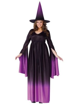 Magical Witch Womens Plus Costume
