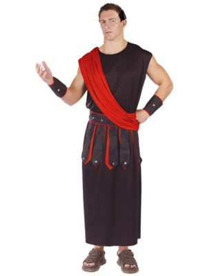 Adult Black Toga Costume