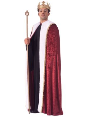 Adult Red King Robe Costume