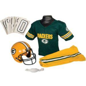 Boys NFL Packers Helmet and Uniform Set