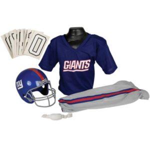 Boys NFL Giants Helmet and Uniform Set
