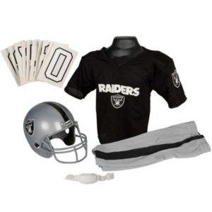 Boys Nfl Raiders Helmet and Uniform Set