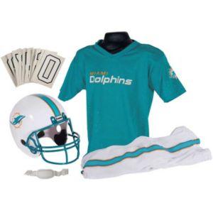 Boys Nfl Dolphins Helmet and Uniform Set