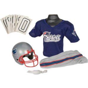 Boys Nfl Patroits Helmet and Uniform Set