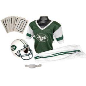Boys Nfl Jets Helmet and Uniform Set