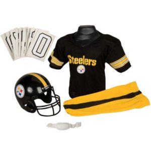 Boys Nfl Steelers Helmet and Uniform Set