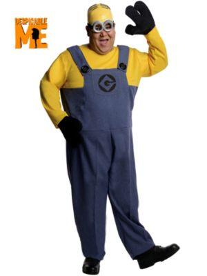 Adult Plus Size Despicable Me Minion Dave Costume