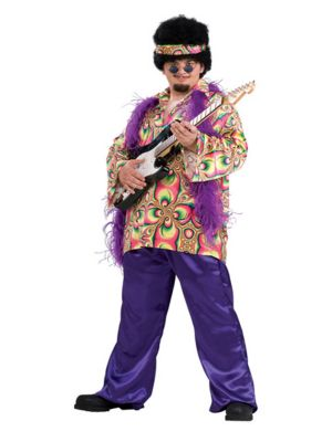 Plus Size Purple Daze Costume for Adult