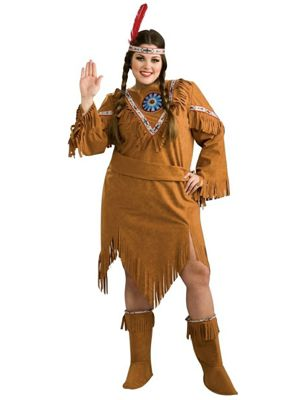 Indian Girl Womens Plus Costume