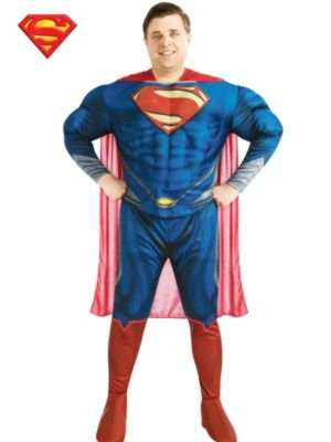 Adult Plus Size Deluxe Superman Man of Steel Costume