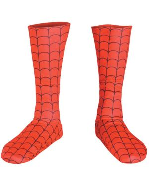 Spider Man Men's Boot Covers
