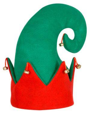 Felt Elf Hat w/bells