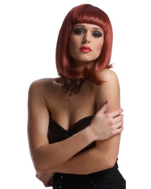 Economy Peggy Sue Wig - Natural Red Adult