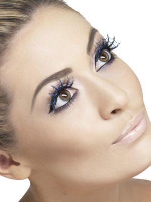 Faux Glitter Spiderweb Eyelashes
