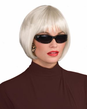 Sassy Wig - Platinum Adult