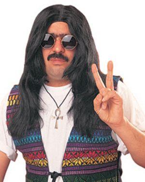 Unisex Hippie Wig Adult