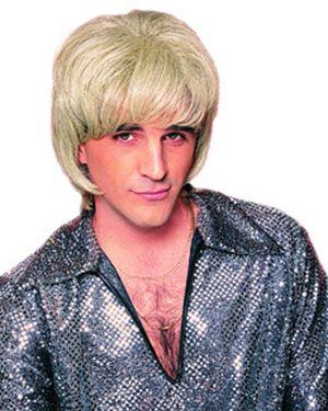 Shag Mans 1970's Blonde Wig