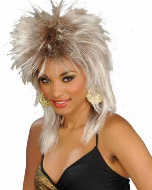 Unisex Blonde Rocker Wig