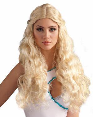 Blonde Goddess Wig Adult