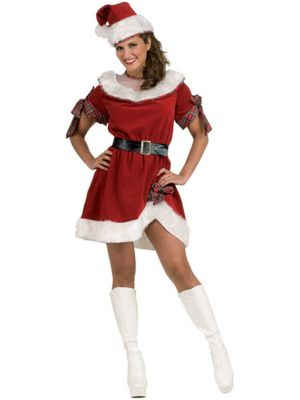 Ms Santa Costume for Women