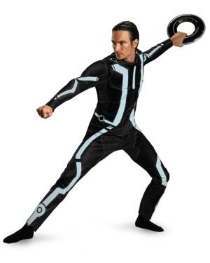 Adult Deluxe Tron Legacy Costume