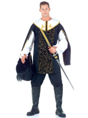 Adult Plus Size Musketeer Costume