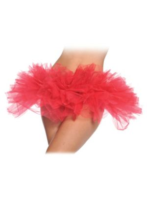 Adult Sexy Red Tutu Skirt