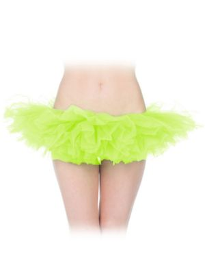 Adult Tutu Neon Yellow