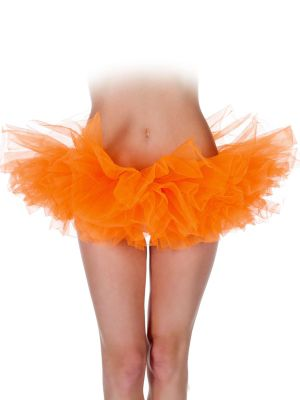 Adult Tutu Neon Orange