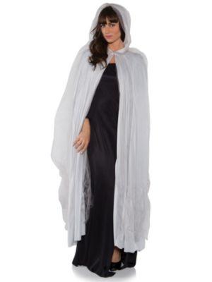 Adult Grey Full Ghost Cape Costume