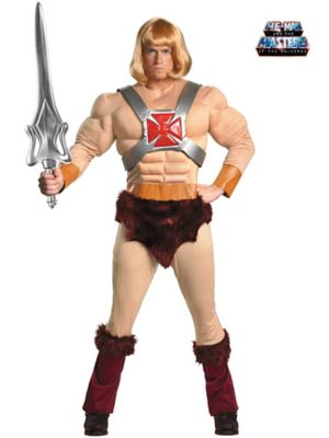 Adult Classic Muscle Masters of the Universe He-Man Costume