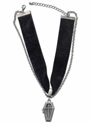 Black Coffin Necklace