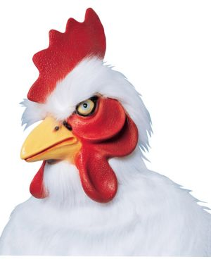 Supreme Chicken Mask Adult