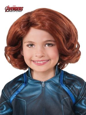 Child Avengers 2 Black Widow Wig