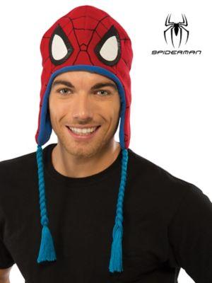 SPIDERMAN ADULT FLEECE HAT