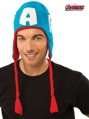 Adult Avengers 2 Captain America Fleece Hat