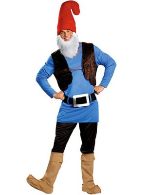 Adult Plus Size Papa Gnome Costume