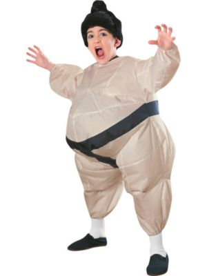 Inflatable Sumo Costume for Child
